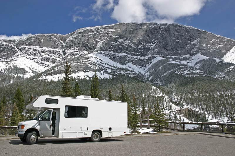 Camper- of auto rondreizen