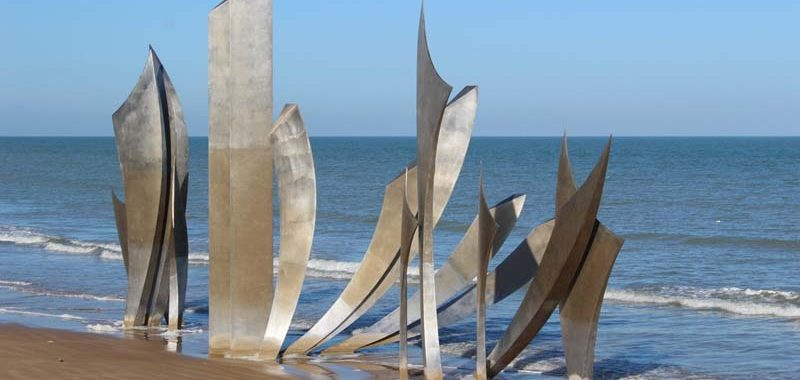 Memorial sight Utah beach
